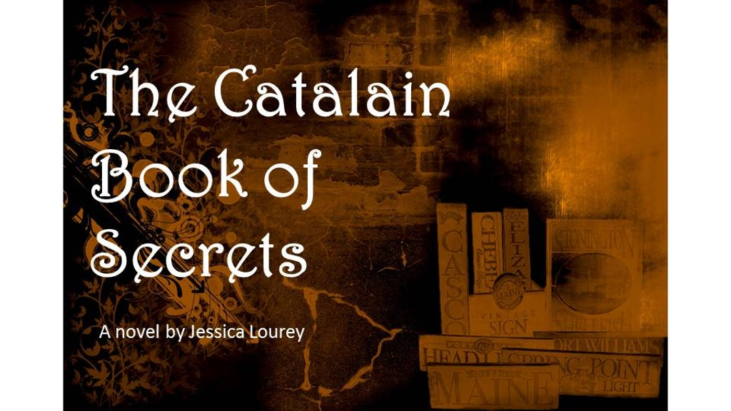 Please Join Me in Publishing THE CATALAIN BOOK OF SECRETS project video thumbnail