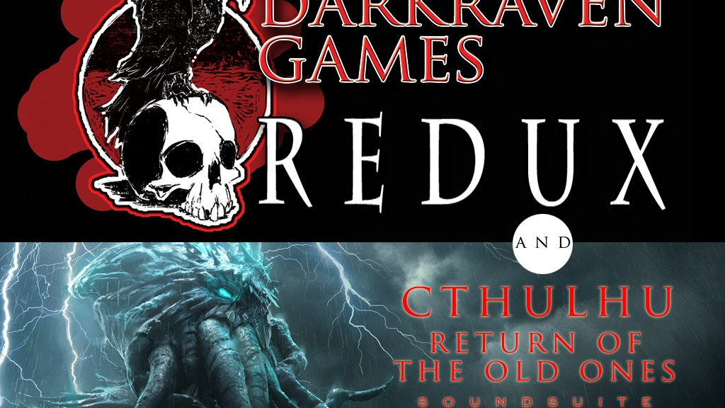 Darkraven Soundscapes:Redux + Cthulhu-Fantasy & Horror Music project video thumbnail