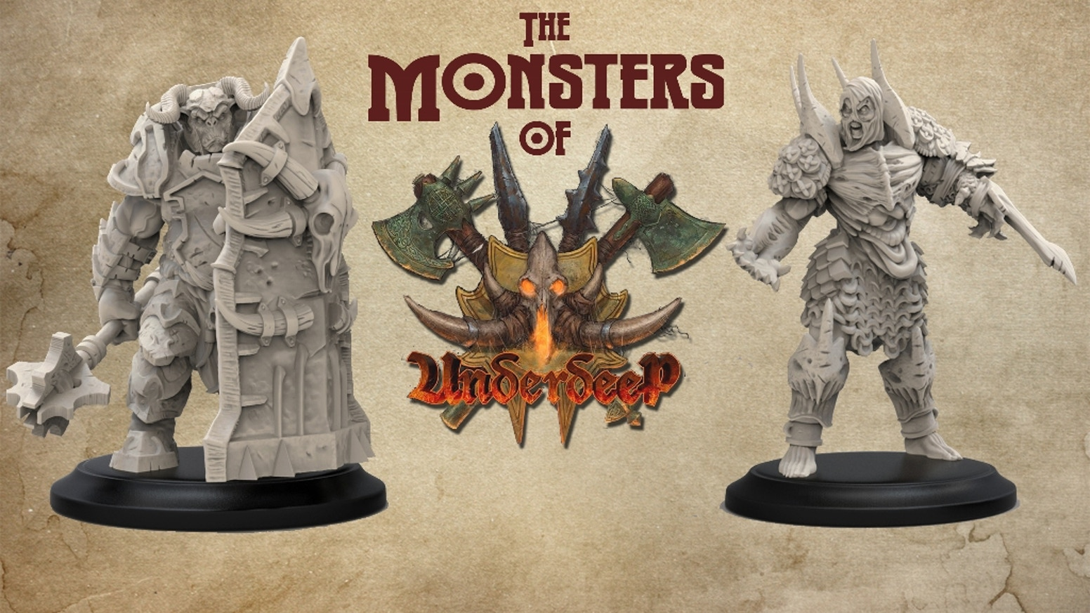 Minion Miniatures - The Monsters of Underdeep by Richard O