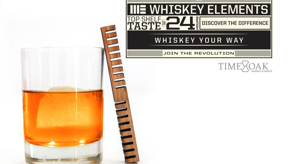 Whiskey Elements: Customize your Whiskey in 24 hours project video thumbnail