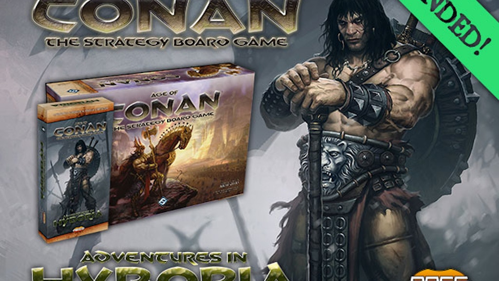Age of Conan Strategy Boardgame – It's Back! project video thumbnail
