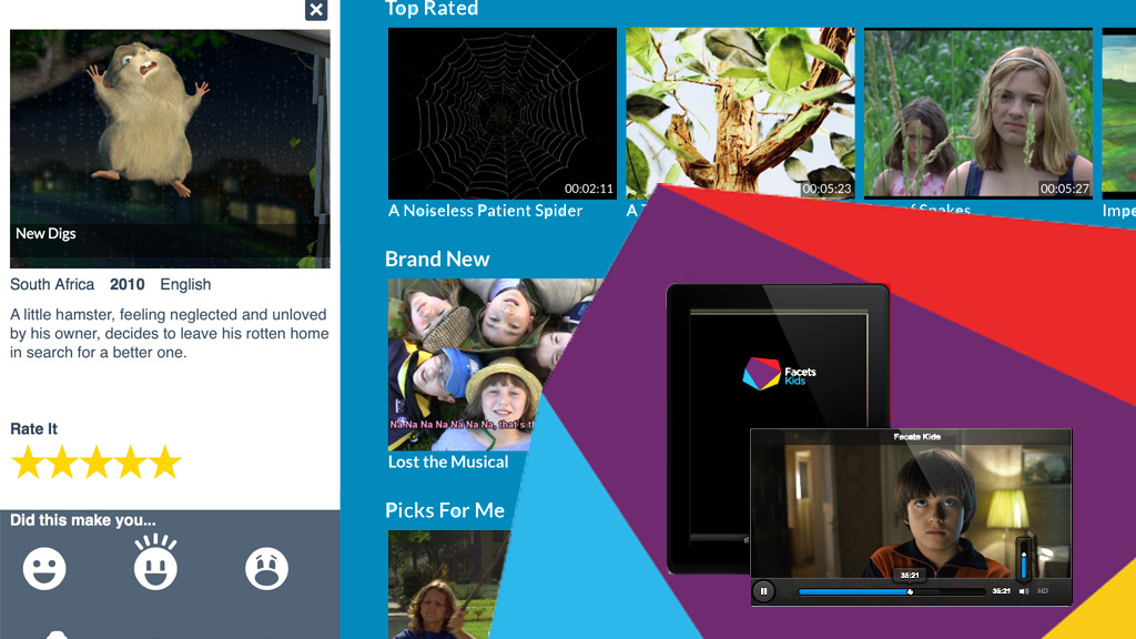 Facets Kids - An App with Smart Films for Smart Kids project video thumbnail