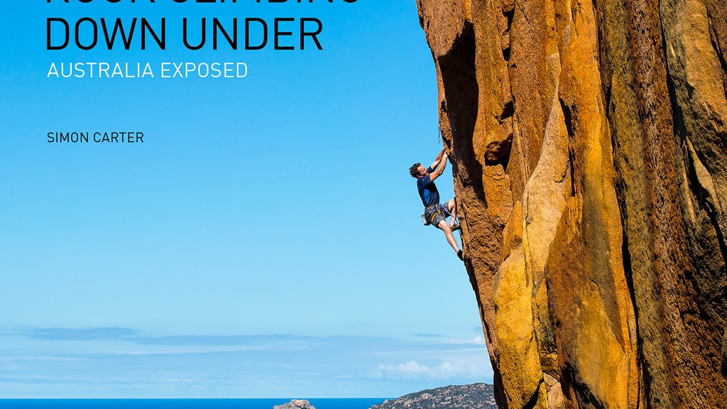 Rock Climbing Down Under: Australia Exposed book project video thumbnail