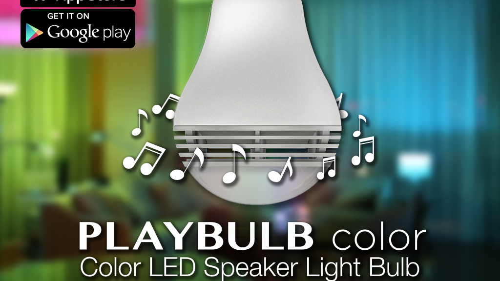 PLAYBULB color - Smart Color Light & Wireless Speaker 2-in-1 project video thumbnail