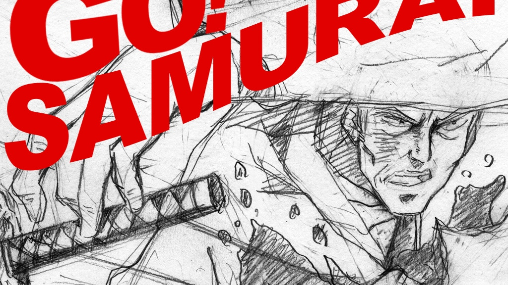 """Go! Samurai"" - An animated short film by Keiichiro Kimura project video thumbnail"