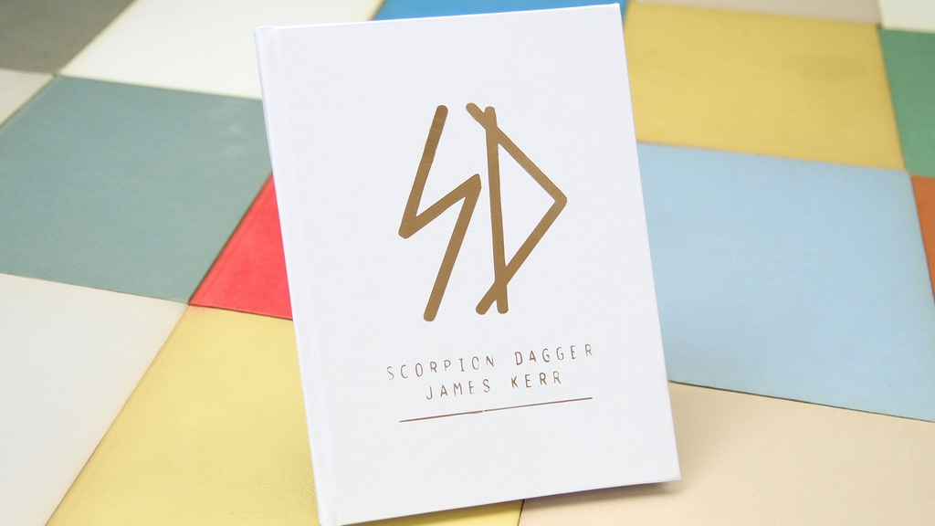 SCORPION DAGGER - Art Book by James Kerr project video thumbnail