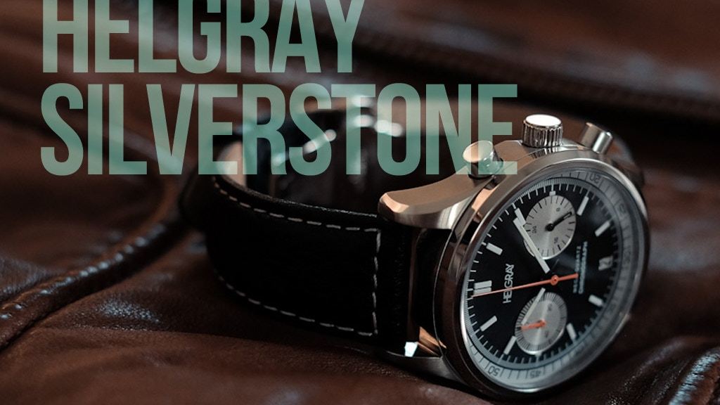 Helgray Silverstone - The 60's Racing Chronograph Watch project video thumbnail