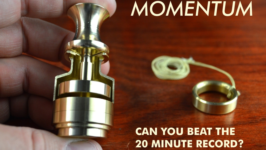 Momentum - World's Fastest Hybrid Spinning Top Gyroscope project video thumbnail