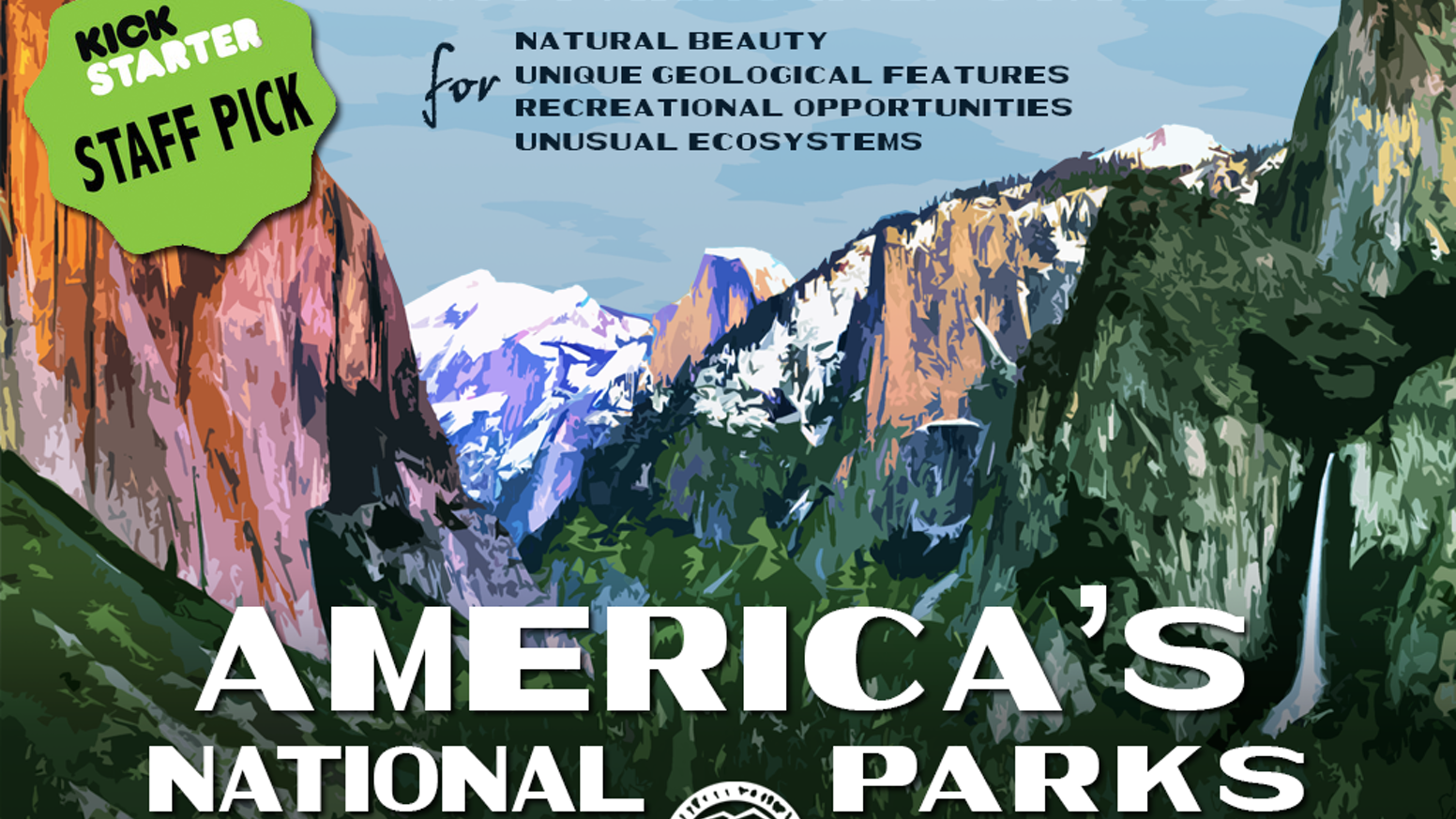 An exclusive Graphic Art Collection of America's National Parks...35 years in the making.