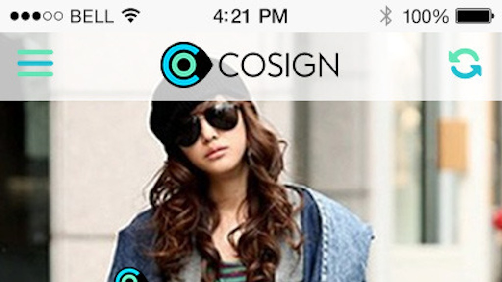 COSIGN - The Lifestyle App that Pays! project video thumbnail