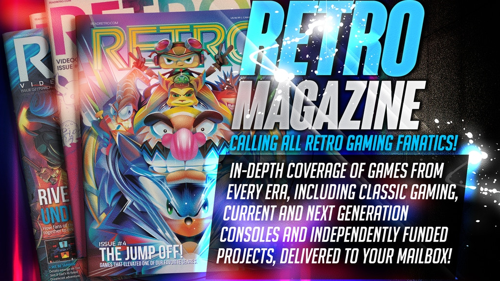 RETRO Video Game Magazine Year Two project video thumbnail