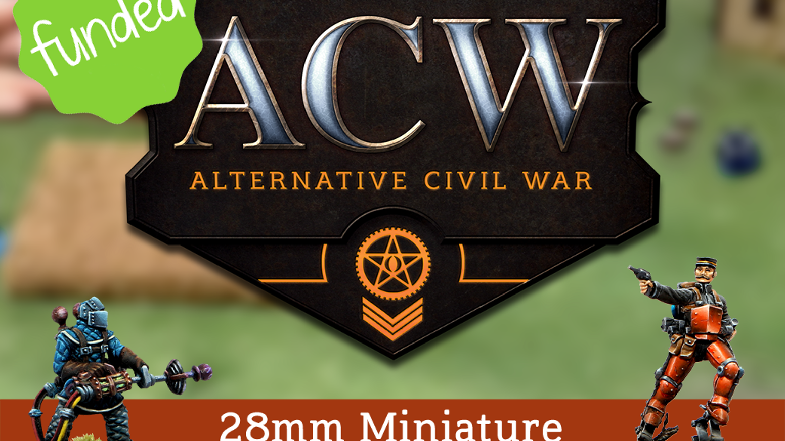 ACW is a 28mm miniature wargame where impossible science clashes with ancient powers over the battlefields of the American Civil War.