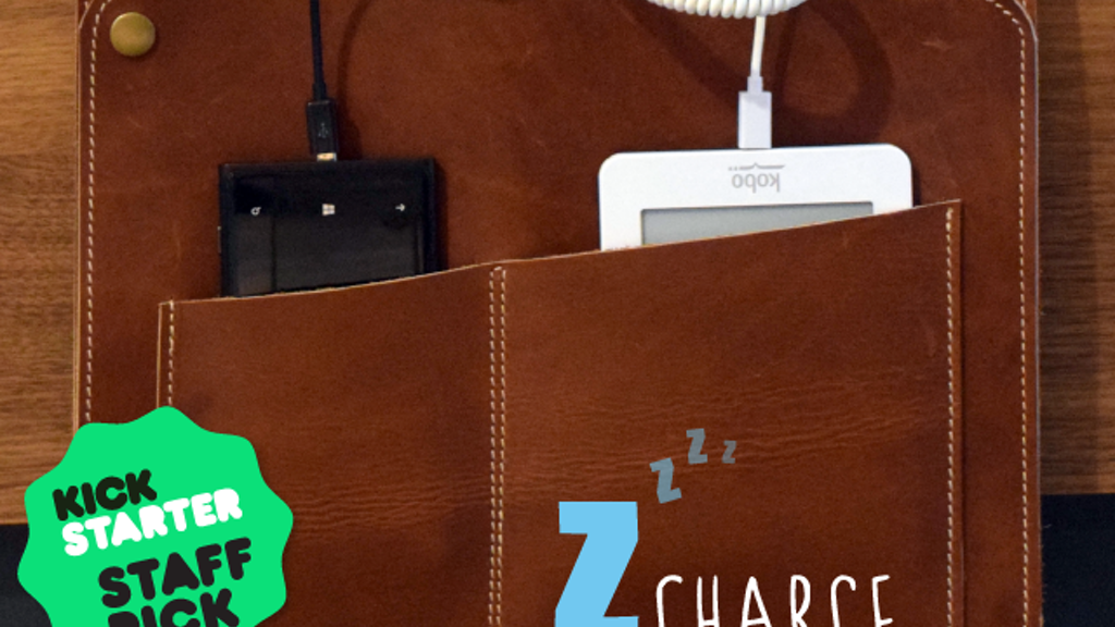 Z-Charge - Phone and tablet bedside storage with charging project video thumbnail