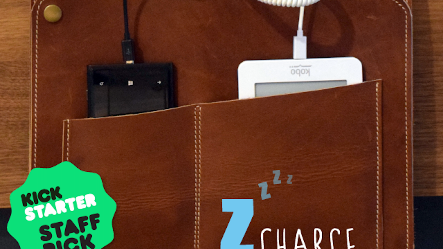 Need more power? Z-Charge is a neat bedside solution that can charge and store up to six devices.