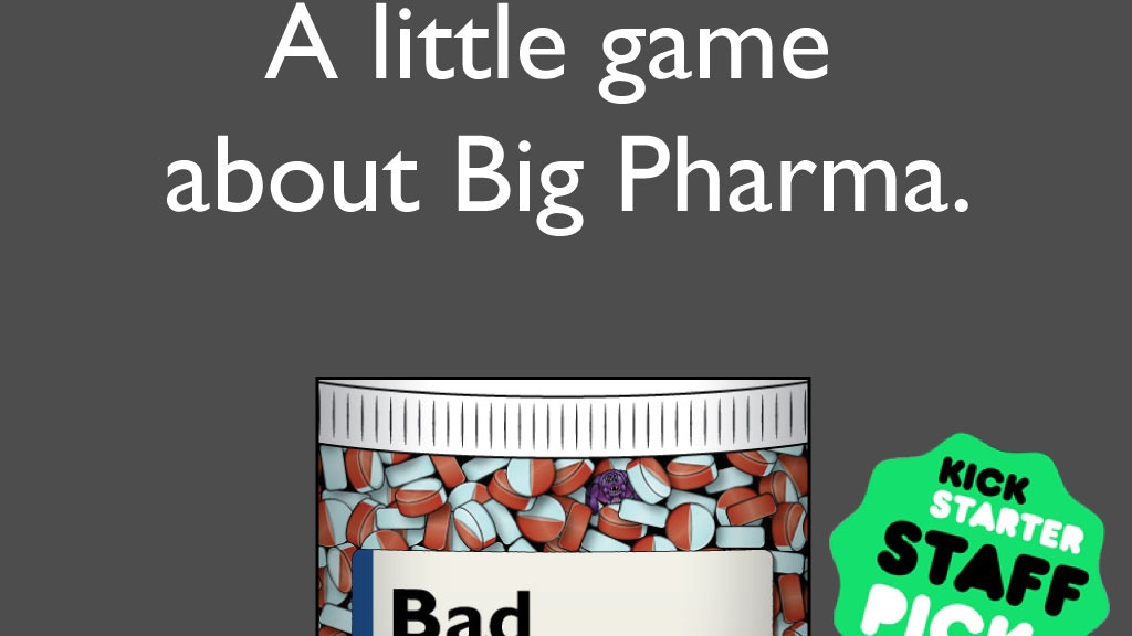 Bad Medicine: A party game about pharmaceuticals project video thumbnail