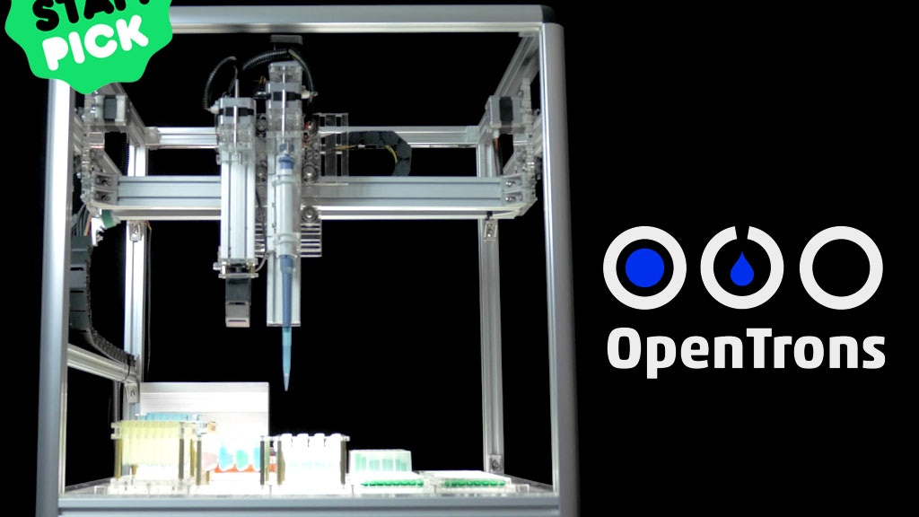 OpenTrons: Open-Source Rapid Prototyping for Biology project video thumbnail