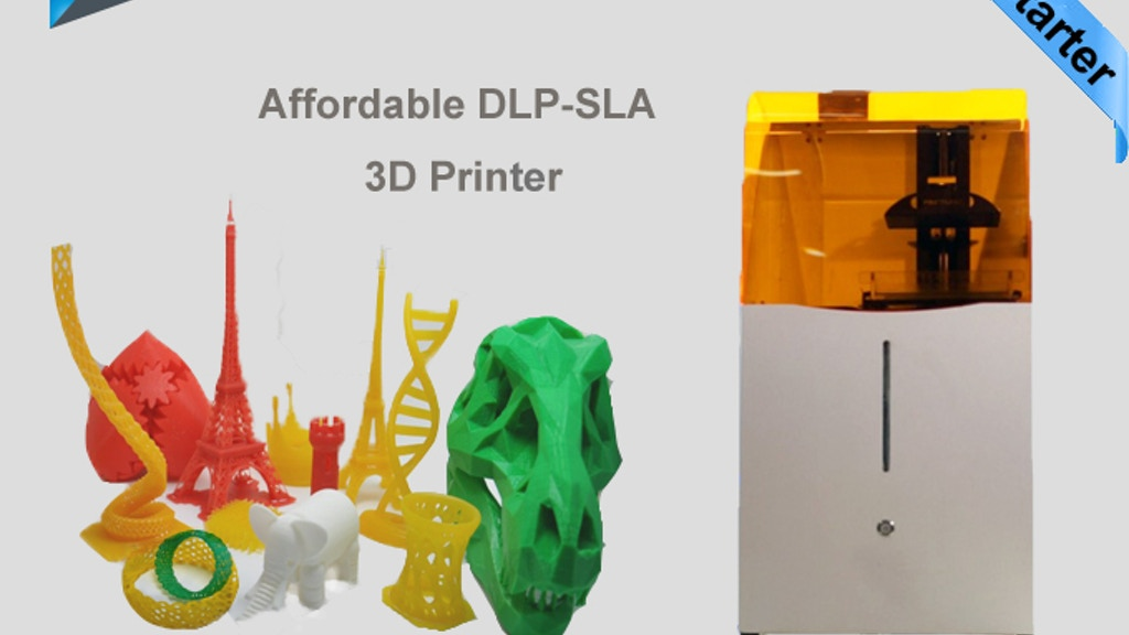 Draken - Affordable, Fast, High Res DLP-SLA 3D Printer project video thumbnail