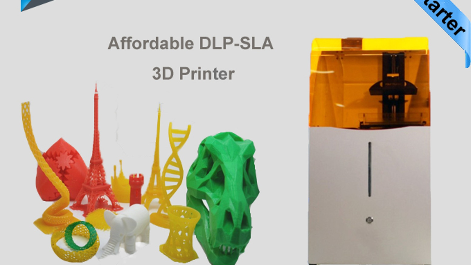 Draken is characterized by its large build area, 37 micron XY resolution, low noise, and high print speed