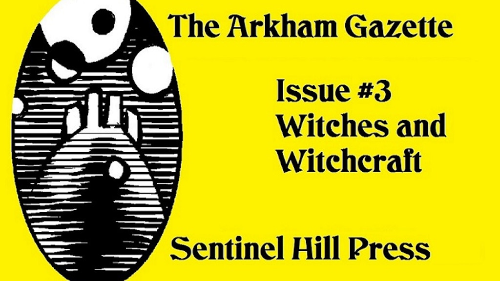 The Arkham Gazette #3, a Lovecraft Country RPG Magazine project video thumbnail