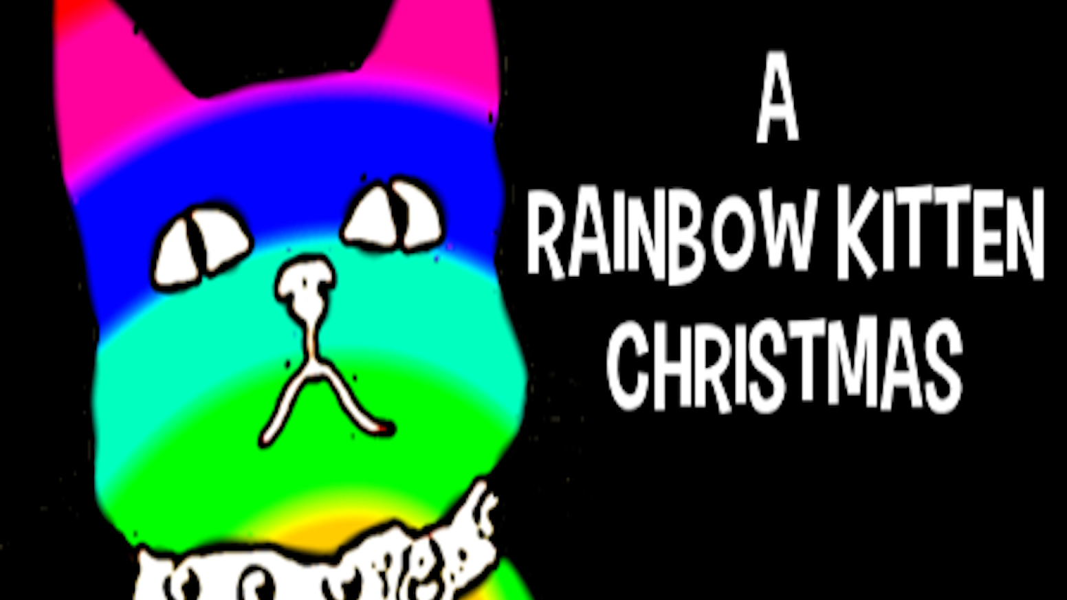 Tide the Yule and ring in the new year with your favorite polychromatic feline as Rainbow Kitten plays the holiday classics you love.