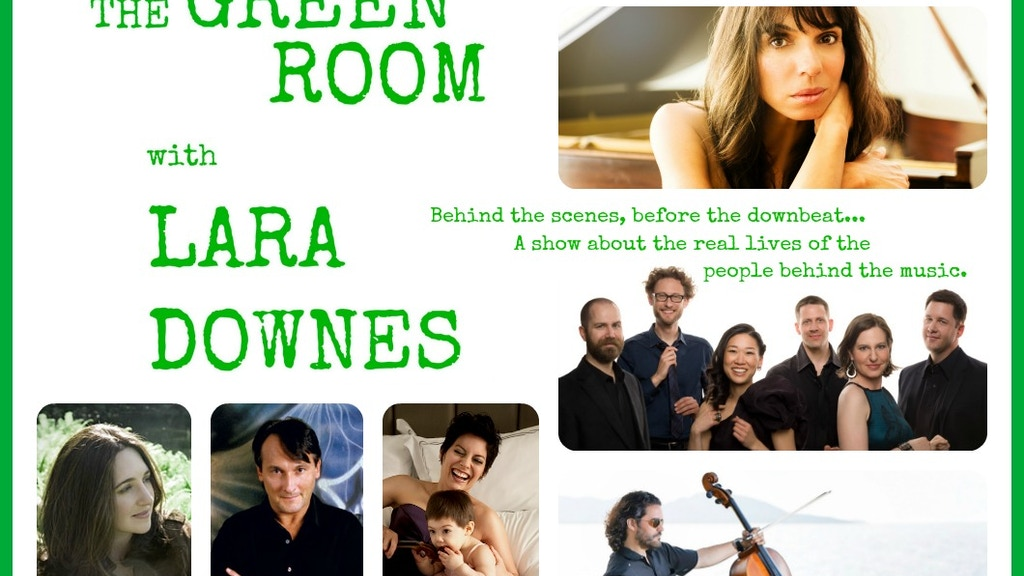 The Green Room: A Show about the People Behind the Music project video thumbnail