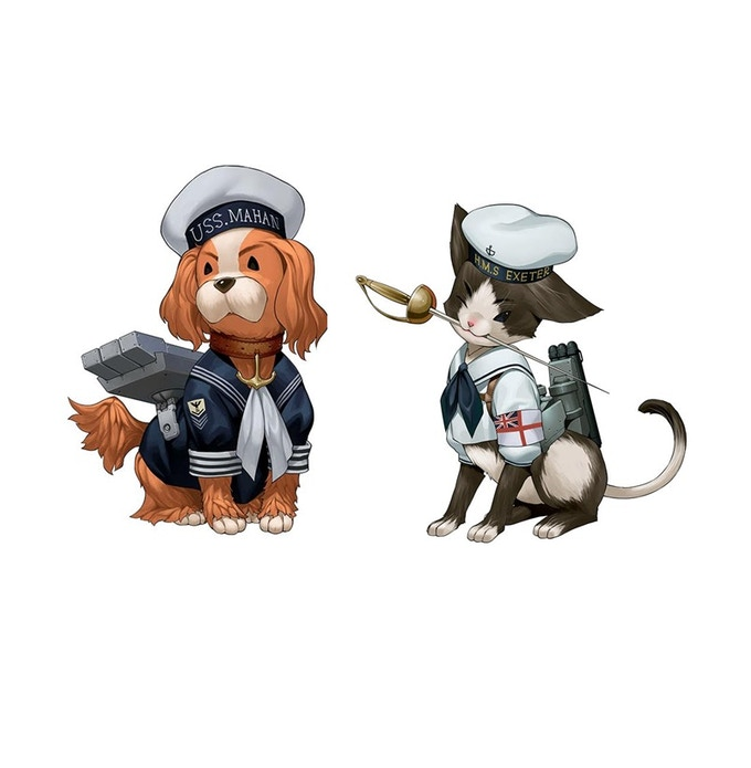 Mascots for the Fleet!