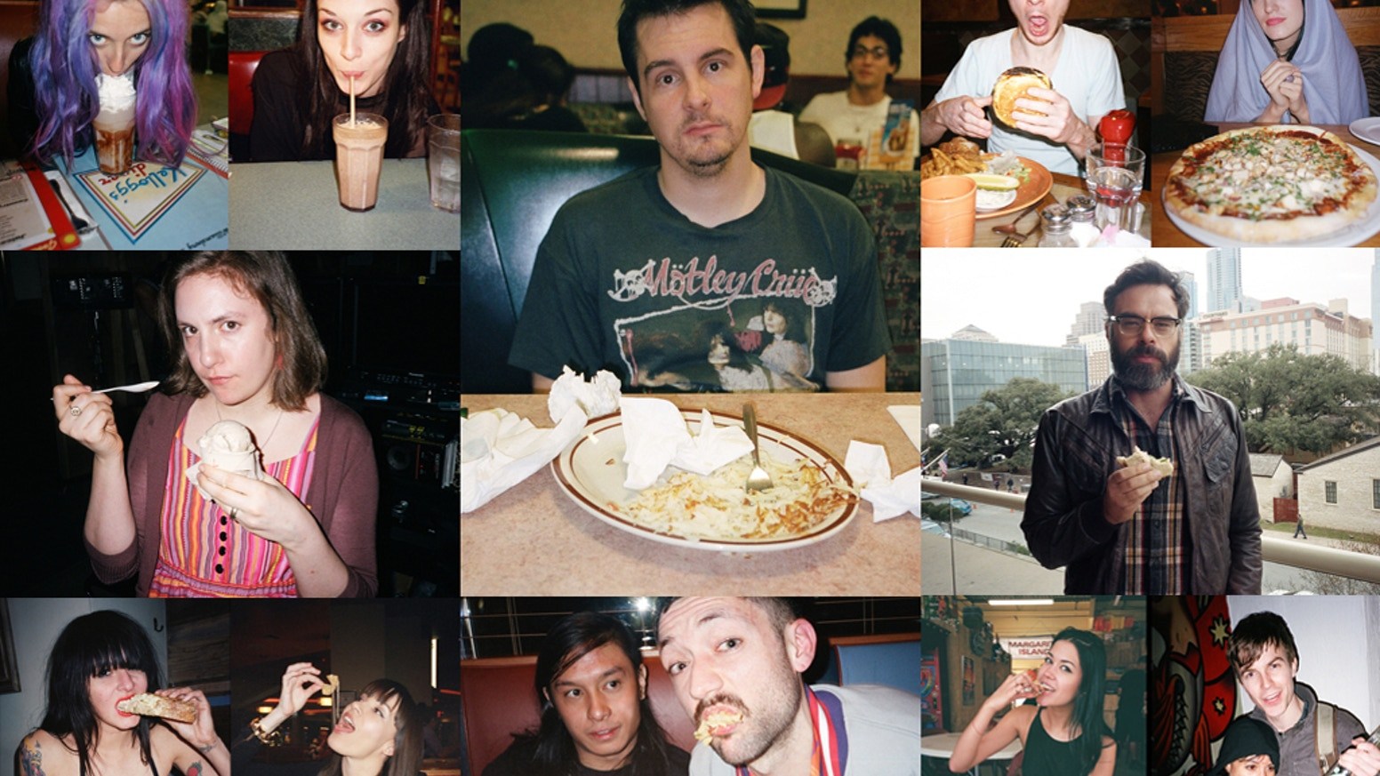 For the better part of a decade I have photographed nearly every person I have eaten with and soon they will be in a book.