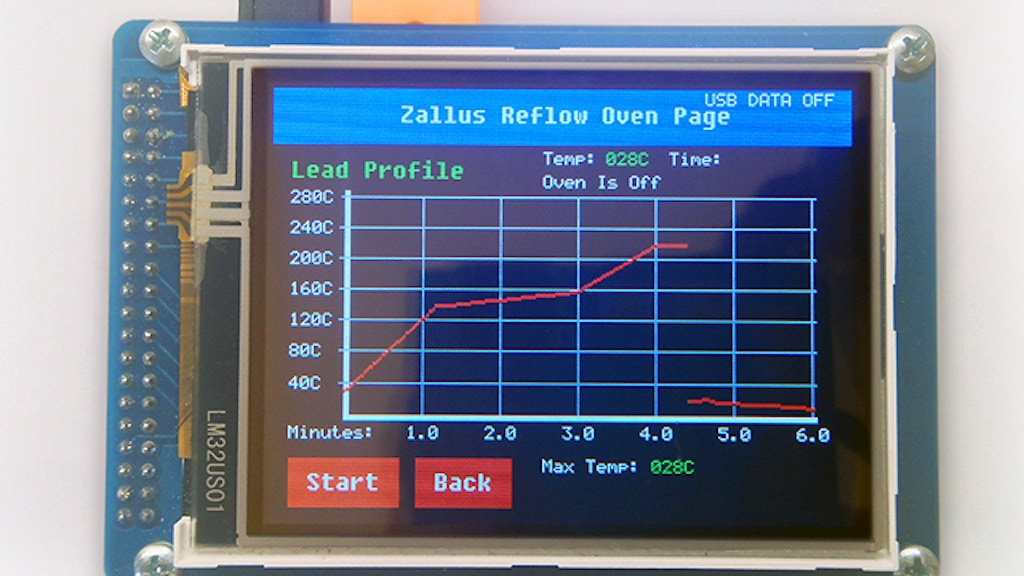 Zallus Reflow Oven Controller project video thumbnail