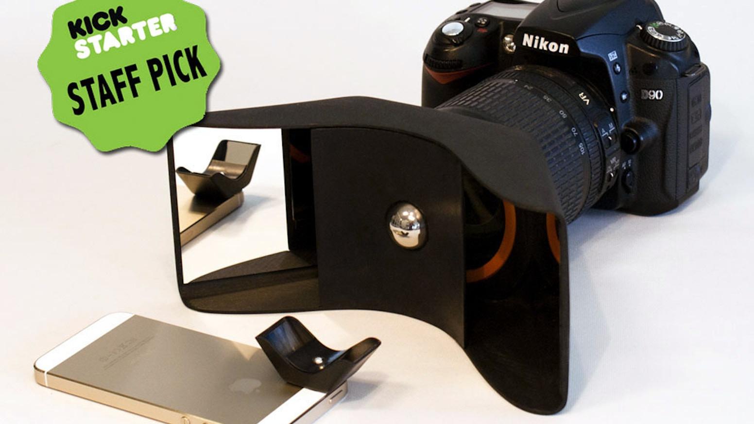 Kúla turns normal cameras into 3D cameras with Kúla Deeper for SLR's and Kúla Bebe for smartphones.