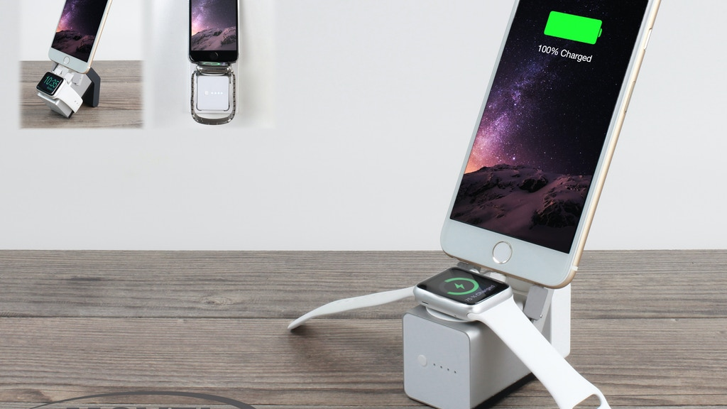 MOVE! Cable free travel companion for AppleWatch & iPhone project video thumbnail