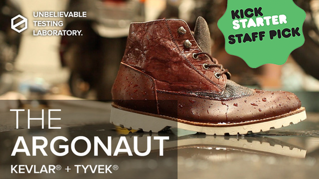 THE ARGONAUT: The Four-Season KEVLAR® and TYVEK® Paper BOOT project video thumbnail