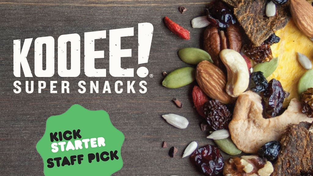 KOOEE! Jerky Trail Mix. High-protein snacks made by nature project video thumbnail