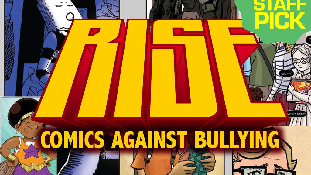 RISE: Comics Against Bullying project video thumbnail