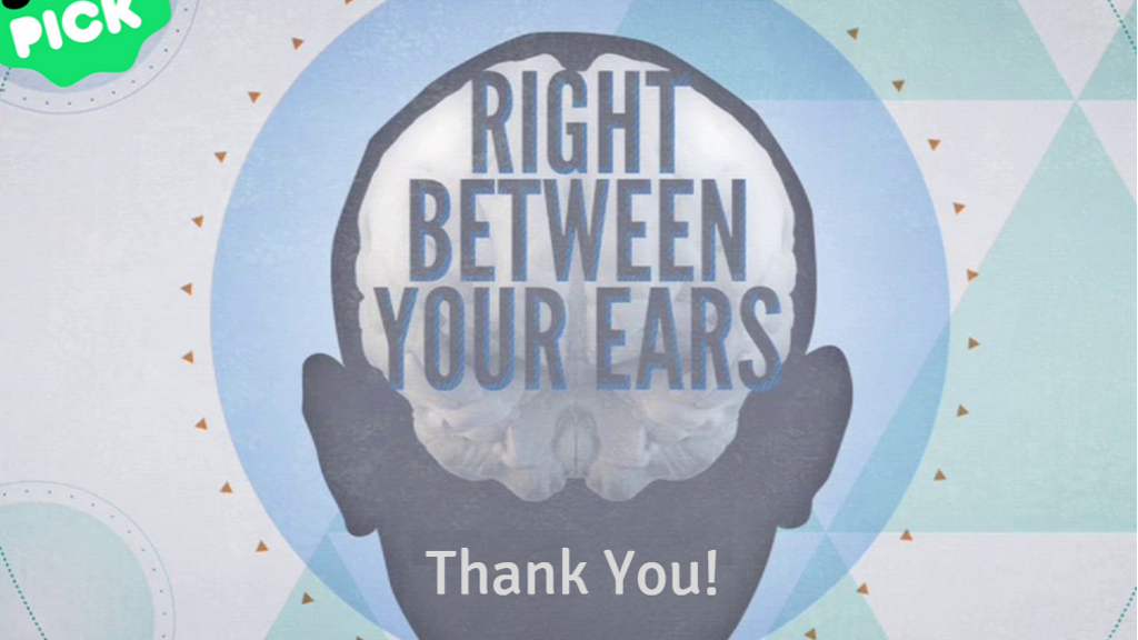 Right Between Your Ears - Finish the Film project video thumbnail