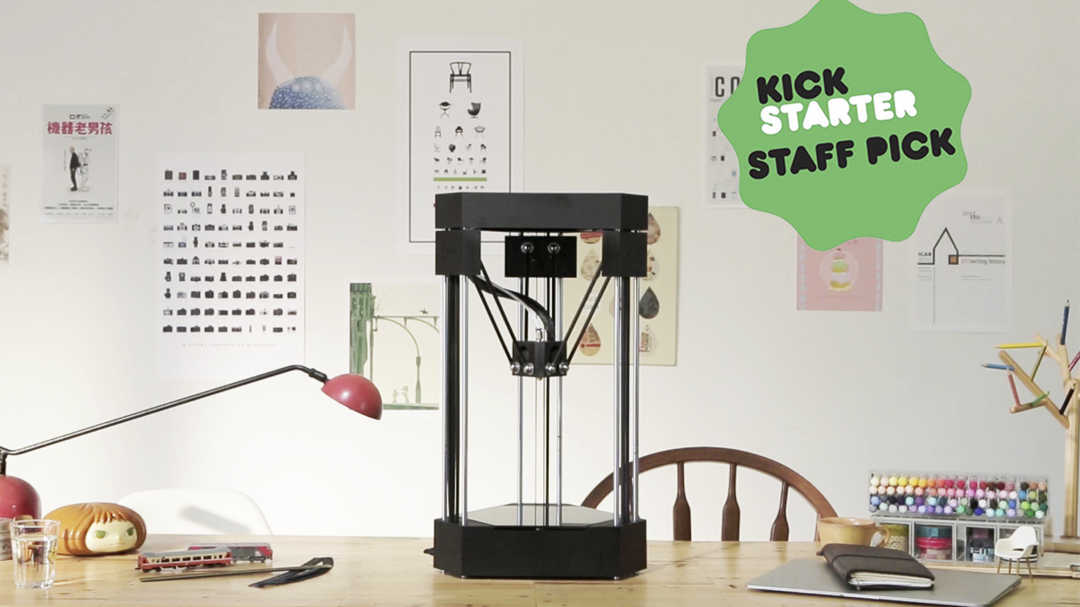 Bring your imagination to life with FLUX Delta's 3D printing, 3D scanning, laser engraving and more modular functions.