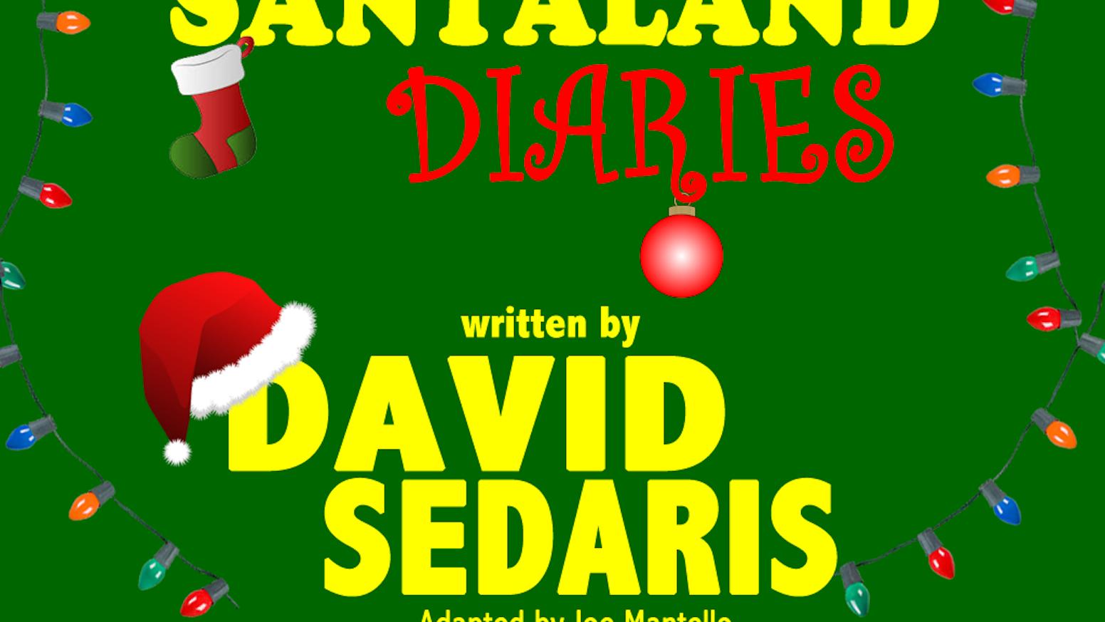 the santaland diaries by david sedaris in los angeles 2014 - David Sedaris Christmas