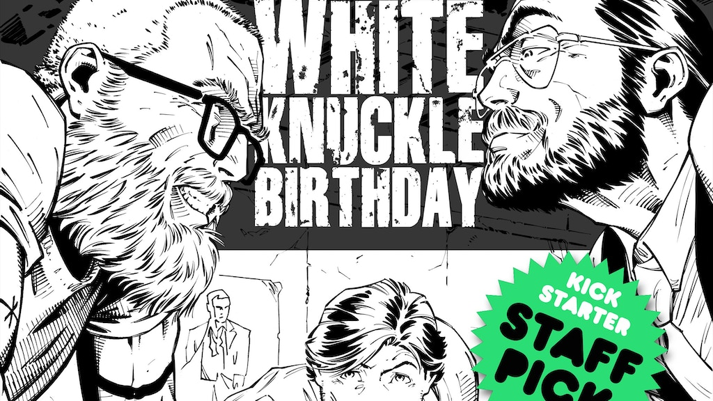 White Knuckle Birthday: The Graphic Novel project video thumbnail