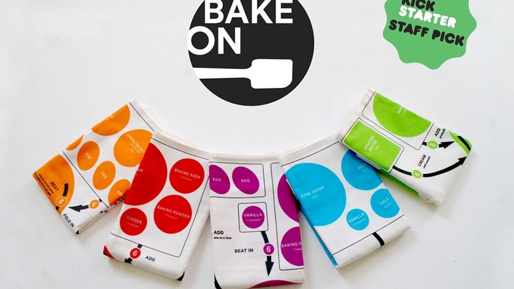 Bake On tea towels project video thumbnail