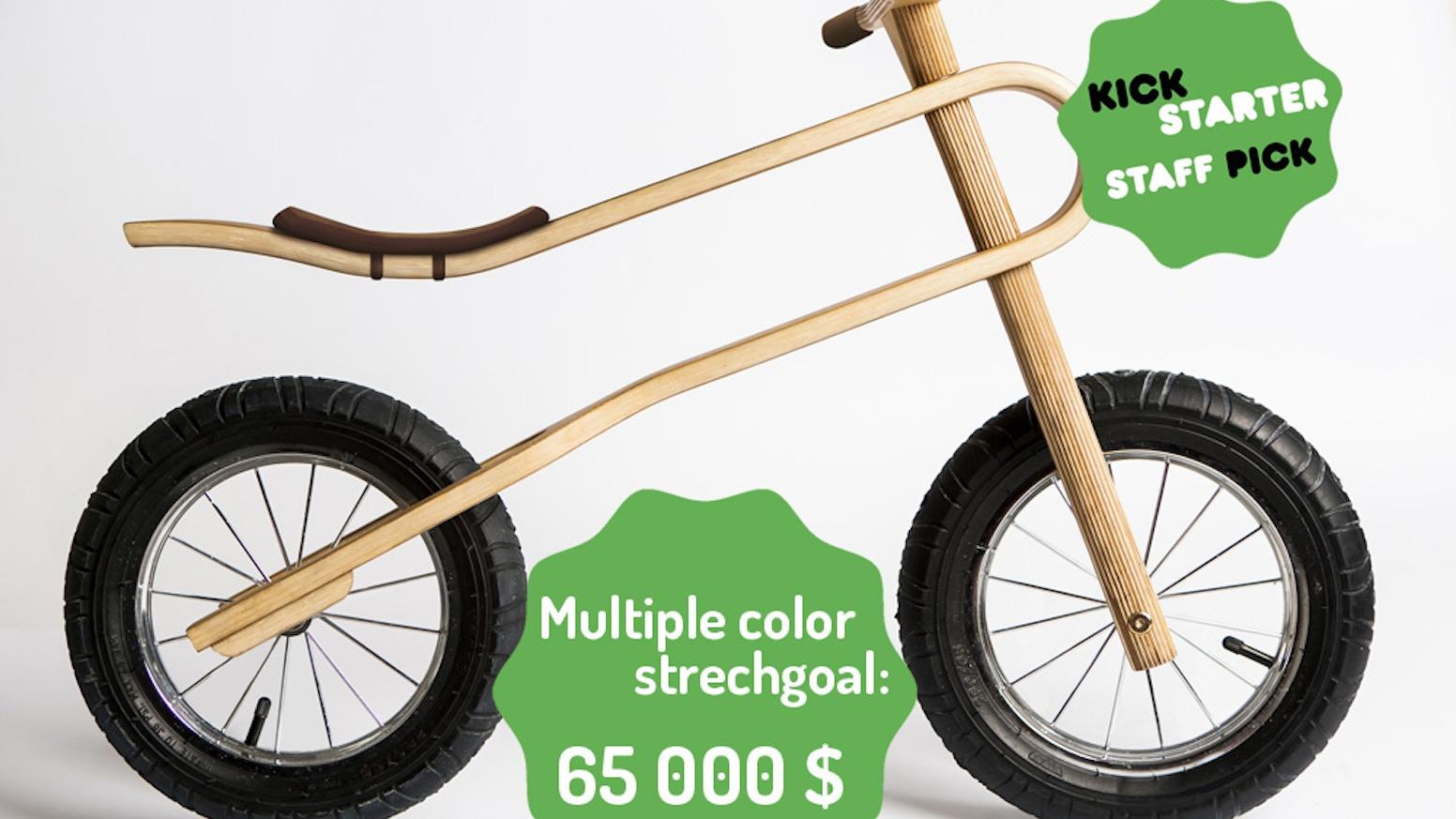 Zumzum The Coolest Balance Bike Ever With Natural Suspension By
