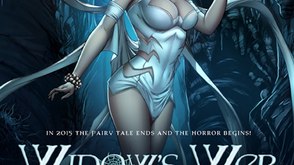 WIDOW'S WEB: A NEW COMIC BOOK SERIES by Raven Gregory project video thumbnail