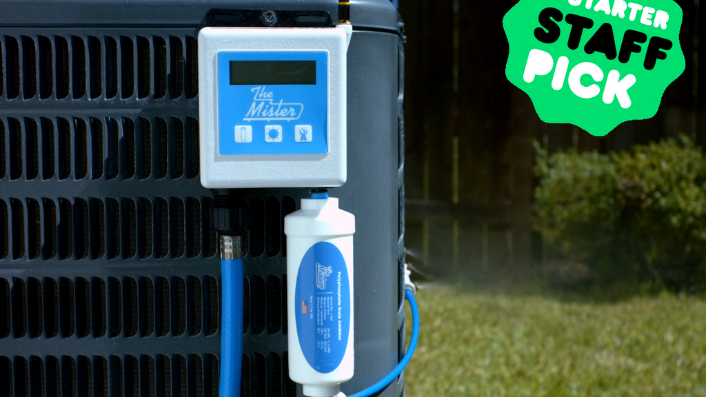Ac Misting System : The mister save on your a c bill by