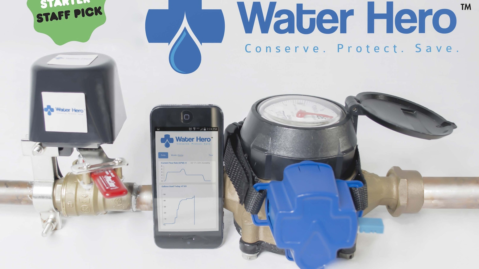 Water Hero Protection From Major Pipe Bursts Costly Leaks By Dan Sterling Kickstarter