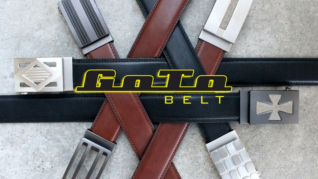 THE BEST FITTING BELT, EVER!   Can your belt do this? project video thumbnail