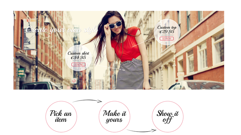 Gusto Moda: Create your own style - customized fashion project video thumbnail