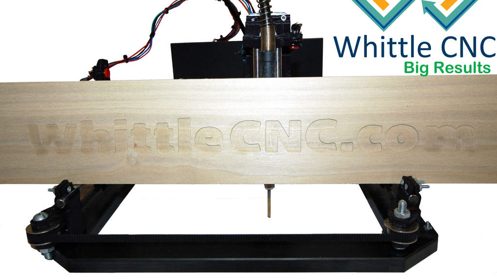 WhittleCNC - High Quality - Affordable - Desktop Router project video thumbnail