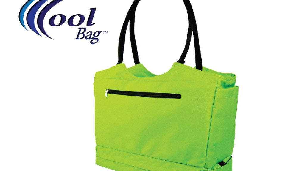 CoolBag  - Locking Travel Bag / Beach Tote with Cooler project video thumbnail