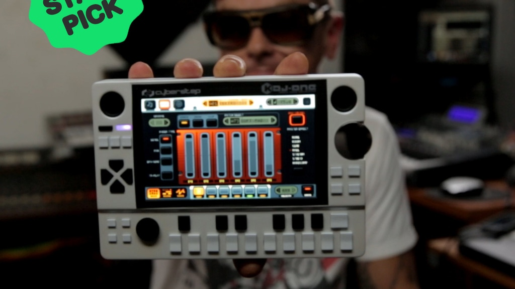 KDJ-ONE : Portable Audio Workstation project video thumbnail