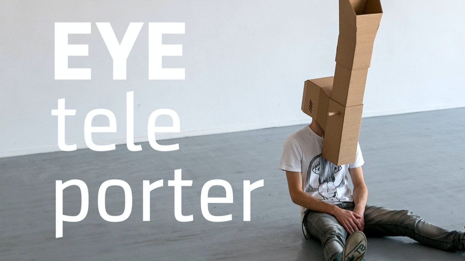 EYEteleporter // periscopic mask that displaces your eyesight. A tweak to your vision and body image.