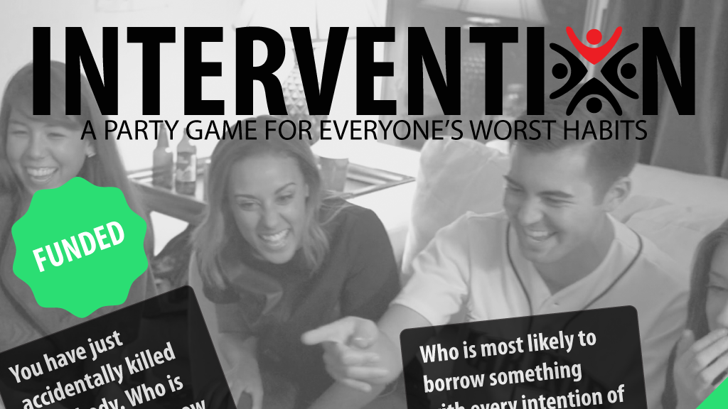 Intervention - A Party Game for Everyone's Worst Habits project video thumbnail