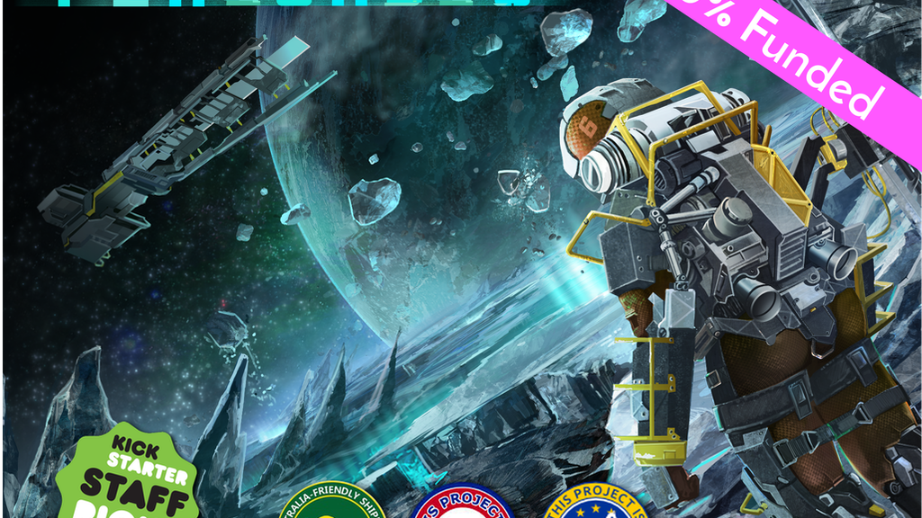 Periorbis: The deep space mining board game for 2-6 players project video thumbnail